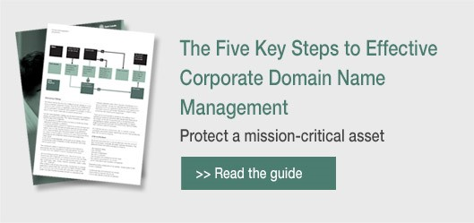 5 steps to effective corporate domain name management