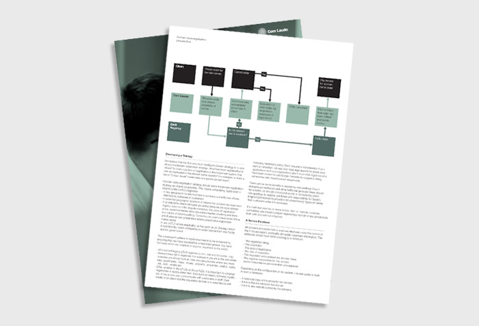 domain management brochure