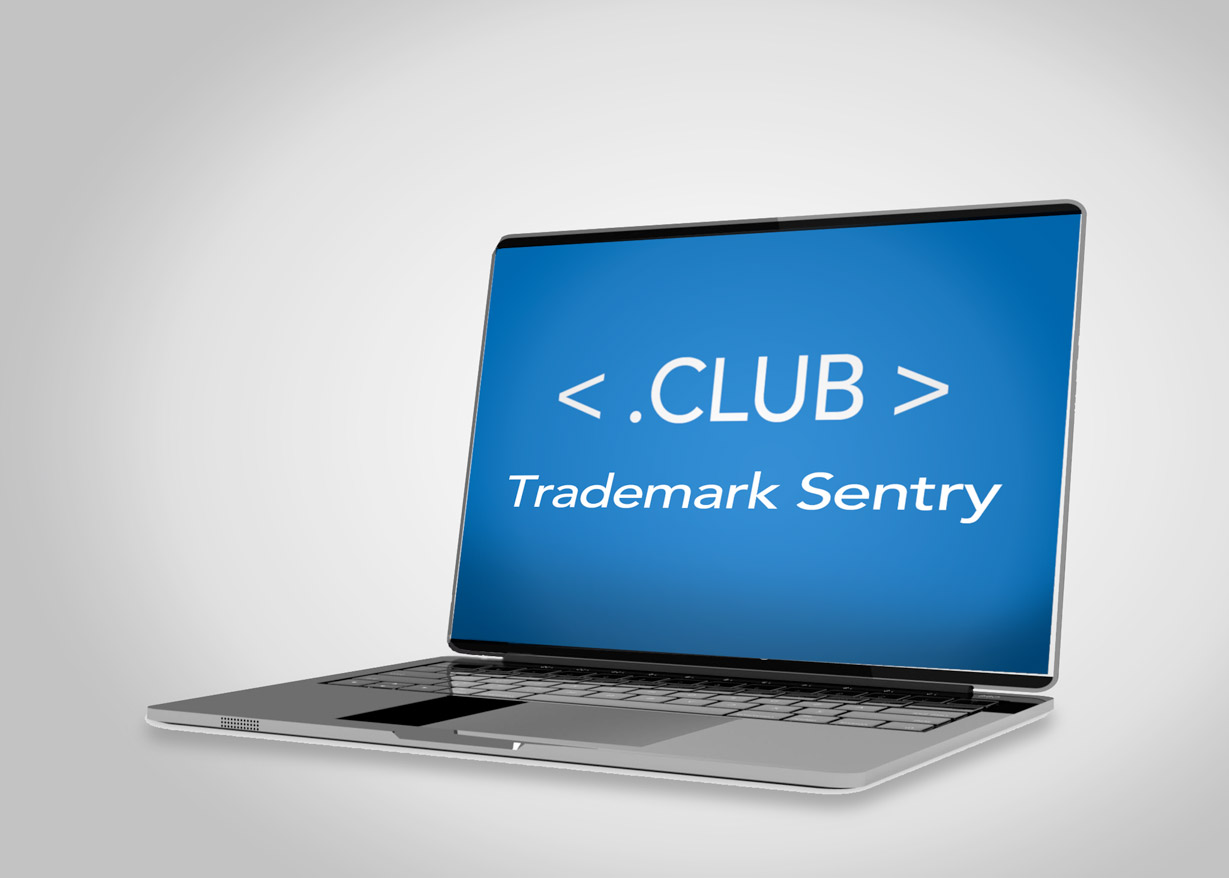 trademark sentry on a computer